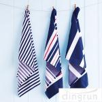 China OEM Full Print Kitchen Tea Towels , 100 Cotton Kitchen Dish Cloths 25*50cm wholesale