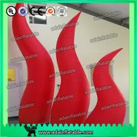 China 2M High Festival Event Decorative Inflatable Cone With Led Advertisment wholesale