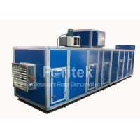 China Honeycomb Chemical Air Dehumidifier , Low Temperature Desiccant Dehumidifier on sale