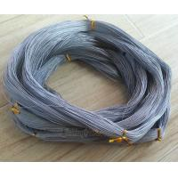 Buy cheap 10skeins  connected braided single grey color  fishing line from wholesalers