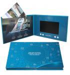China Digital Promotional LCD Video Brochure Card / Custom Video Brochure 7 Inch Tft Screen wholesale