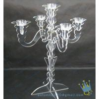 China CH (7) Acrylic hurricane candle holders wholesale
