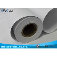 China 128G Large Format  Matte Coated Paper Inkjet Printing 30M For Water Based Printer wholesale