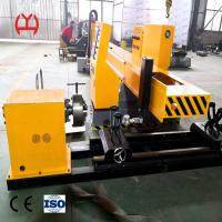 China High Power Ss Pipe Cutting Machine 10.4 Inches LCD Display Dimension Automatic Ignition on sale