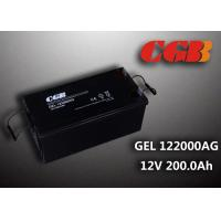 China Reliable safe 200AH GEL Series 12V Lead Acid Battery Rechargeable No leaking wholesale