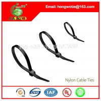 China Plastic Releasable Nylon Cable Ties 7.6mmx300mm 100Pcs/bag wholesale