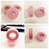 Pink color Ptfe teflon tape for water works