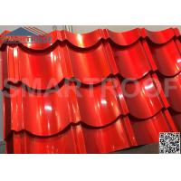 China 1m Wide Synthetic Plastic Metal Roof Sheets 0.526mm Thickness Easy Foaming wholesale