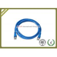 China Cat5e UTP Ethernet Network Patch Cord With RJ45 Connector Various Color Jacket wholesale