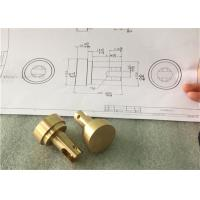 China Custom Precision Brass Machined Parts Solid Brass Flange For Heating Element on sale