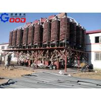 China Spiral chute for magnetic iron ore wholesale
