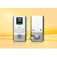China Hotel Electric Biometric Fingerprint Door Lock With Illuminated Keypad on sale