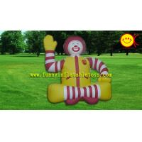 Quality Good elasticity Inflatable Advertising Customized Inflatable Ronald McDonald Mascot for sale