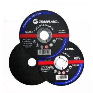 China Grassland OEM Inox 5 Inch 125*1.2*22 Abrasive Cutting Discs wholesale