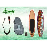 China EPS core Air Brush Surfing Sup Boards , sport beach boys / girls surfboards wholesale