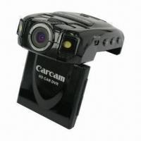 China 2.0-inch TFT 720p Night Vision Car DVR, Built-in Microphone and Speaker wholesale