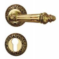 China Brass Lever Door Lock (1535AF-AG) wholesale