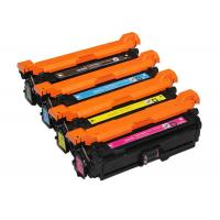 China 504A CE250A Laser Toner Cartridge Customized Packing Compatible With HP CM3530 wholesale