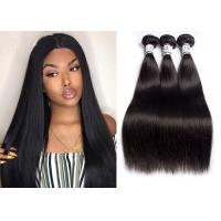 China Double Weft Virgin Remy Human Hair Bundles Straight Full Cuticle Aligned 100% wholesale