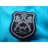 China Sportswear Clothing Labels With Custom Printing 3D Raised Logo Matt Effect wholesale