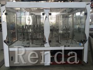 China Electrical Bottle Water Filling Machine 380V Beverage Filling Machine 1 Year Warranty wholesale