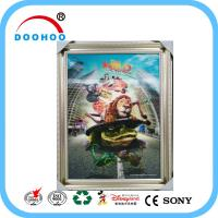 Quality Competitive Advantage PET 3D Lenticular Poster UV Printing CMYK / Pantone Color for sale