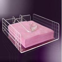 China High Quality Exquisite Design Acrylic Serving Paper Tray wholesale