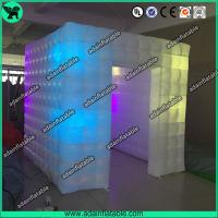 China Lighting Photo Booth Inflatable Cube Tent/Event Party Decoration Inflatable Dome wholesale