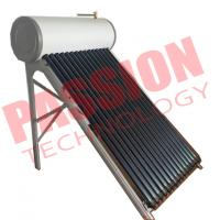 China Anti Freezing Heat Pipe Solar Water Heater With Intelligent Controller on sale