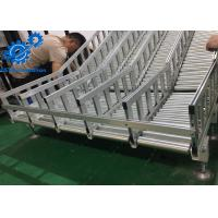 China Aluminium Profile Automated Conveyor Systems , Roller Conveyor System For Desiccant Bags wholesale