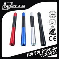 China Colored Replacement Car Antenna Mast , Aluminum car radio antenna mast on sale