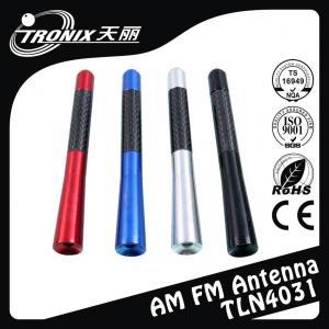 China Colored Replacement Car Antenna Mast , Aluminum car radio antenna mast wholesale