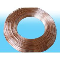 China Heaters single Side Copper Coated Bundy Tube 4.76mm X 0.55mm best price wholesale