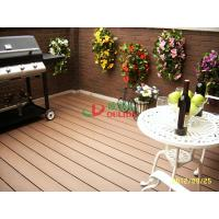China garden wpc decking floor anti-slip,wood plastic flooring with long lifespan 20 years wholesale