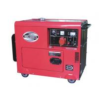 China 5kva air-cooled generator KDE6500T portable diesel generator for power supply wholesale