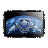 China D-SUB TFT Open Frame Touch Screen Monitor DC12V 4/5 Wires Resistive Touch wholesale