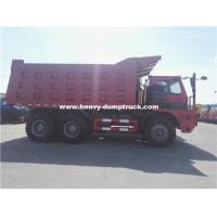 Quality 70 Tons Howo Mining Dump Truck ZZ5707S3840AJ 32m3 Body Half Cabin for Nickel Minerals for sale