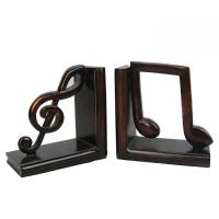 China Study Room Music Themed Bookends / Eco - Friendly Music Note Bookends wholesale