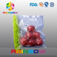 China Vegetables And Fruits Food Vacuum Seal Bags Composite Freeze Vacuum Bag wholesale