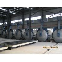 Quality Steaming Double Door Autoclave Aac Block Cutting Machine 1.6Mpa Pressure for sale