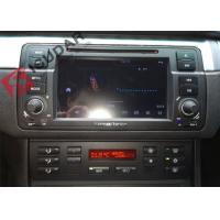 China Split Screen Mode Bmw E46 Sat Nav , Android Auto Car Radio With Screen Mirroring Function on sale