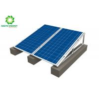 Buy cheap riangular Shape Simple Installation Flat Roof Solar Mounting Systems Universal from wholesalers