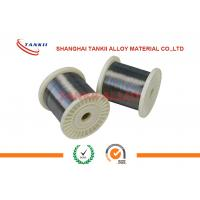 China 650c FeCrAl Alloy  Wire Rod In Coil 0.02-10mm Bright Alloy 750 Stablohm wholesale