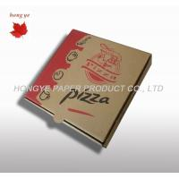 China Offset Printing Recycled Corrugated Cardboard Boxes For Pizza wholesale