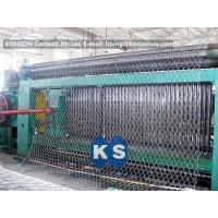 China Custom Automatic Gabion Machines 80X100mm Gabion Production Line wholesale