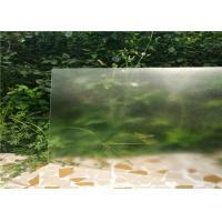 Buy cheap 3.2mm Low Iron Toughened Glass 91.7 % Light Transmittance from wholesalers