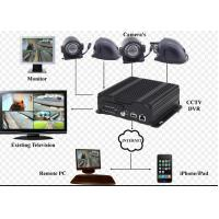 China 720P Resolution hybrid SD Card Mobile Vehicle DVR with 3G / 4G GPS WIFI wholesale
