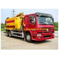 China Removable Sanitation Garbage Truck 336hp Euro III for street cleaning wholesale