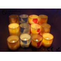 China Remote Control Flameless Candles Led , Flameless Scented Candles No Dripping wholesale