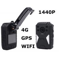 China Police Officers 1440p Night Vision Body Camera Recorder With One Touch Recording wholesale